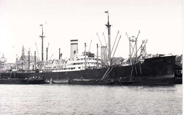 SS Langkoeas, sunk on 3 January 1942 worldwartwo.filminspector.com