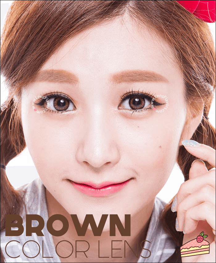 gg a21 brown colored contacts
