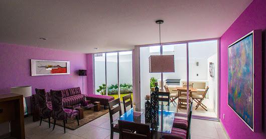 Decoraci n de interiores fachadas de casas y plantas for Decoracion de interiores queretaro