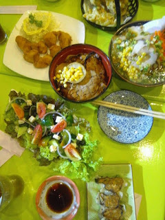 Japanese food at Akita Restaurant in Mandaue City Cebu Philippines