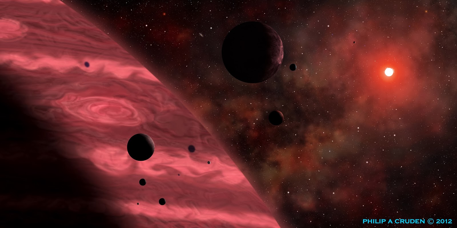 Billion Planets Astronomy and Art: Exoplanets Planets