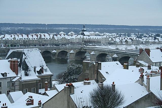 Pont Jacques Gabriel (Neige 05 février 2012)