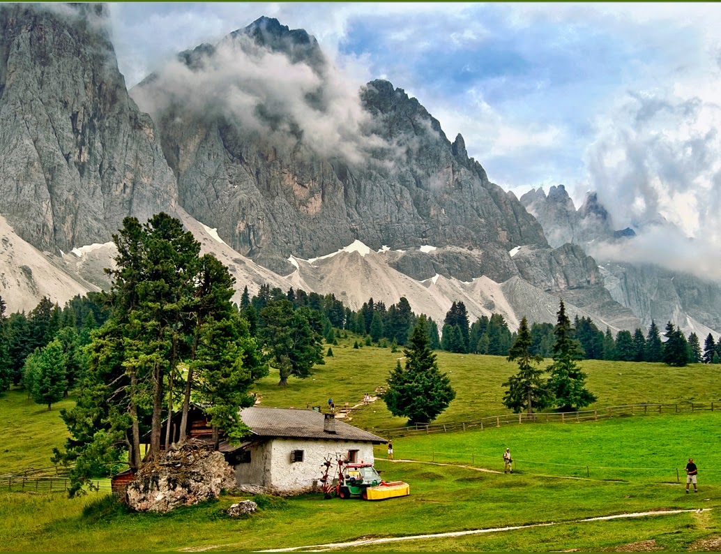 landscape mountain beautiful wallpaper - photo #4