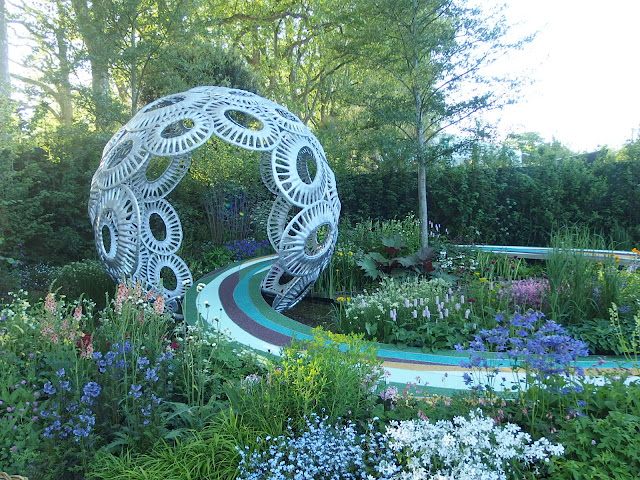 Forever Freefolk show garden at Chelsea Flower Show