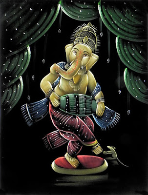 Good Morning With Dancing Ganesha