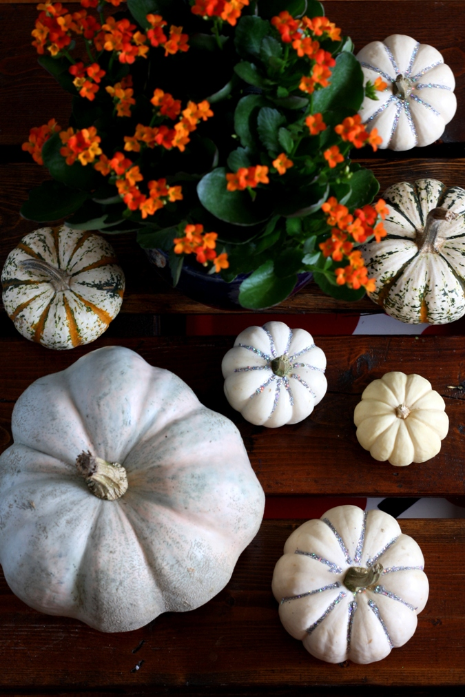 pumpkin, diy, glitter, fall, home decor, halloween