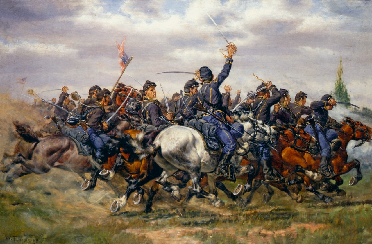 19th Century American Paintings Civil War