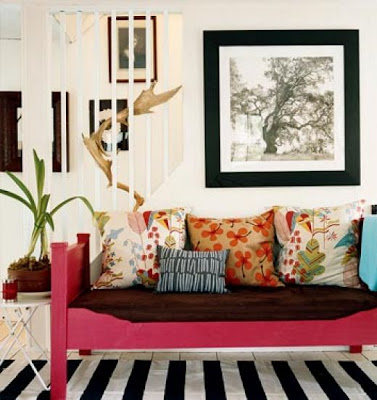 throwpillows Adding Color without Paint: Interior Design Wednesday 10