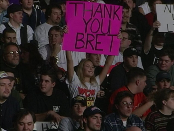 A young Stacy Keibler fan of WCW Nitro.  STRENGTHFIGHTER.COM