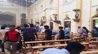 sri lanka bomb blast today