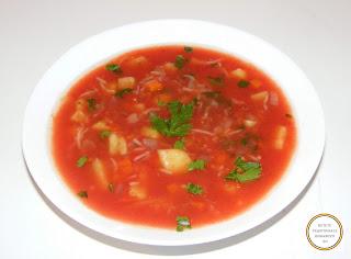 Supa de rosii taraneasca retete culinare,