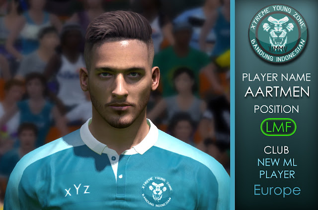 PES 2017 UH-ML Facepack Unknown Handsome for Youth ML Europe by Xyzteam Facemaker