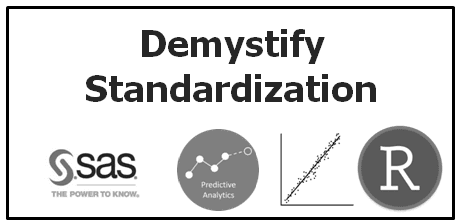 When and why to standardize a variable