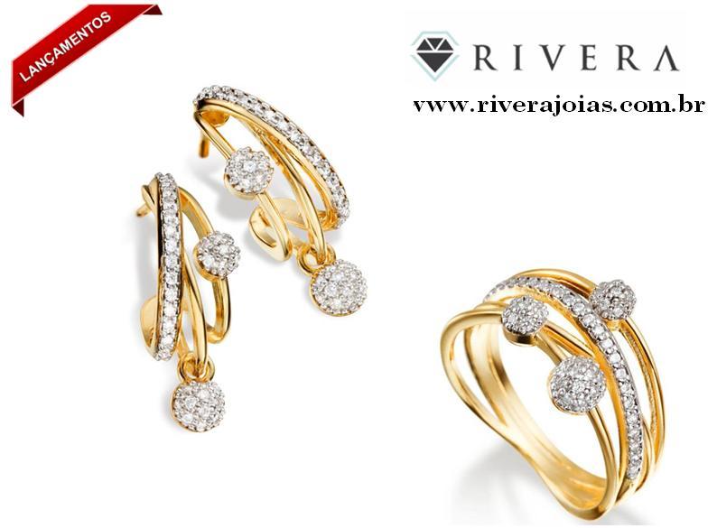 e93db3f78 Blog Rivera Joias: Rivera Jóias Folheadas: Brincos, Colares, Anéis e ...