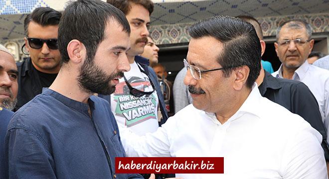 Cumali Atilla, Diyarbakır Bağlar'da vatandaşlar ile biraraya geldi