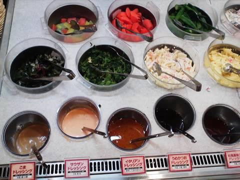 バイキングコーナー(サラダ1) ビッグボーイ一宮若竹店