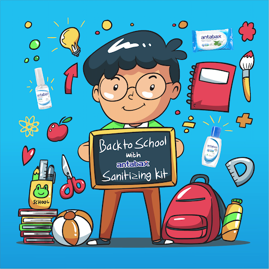 Betty's Journey: Head Back-To-School with the Antabax Sanitizing Kit