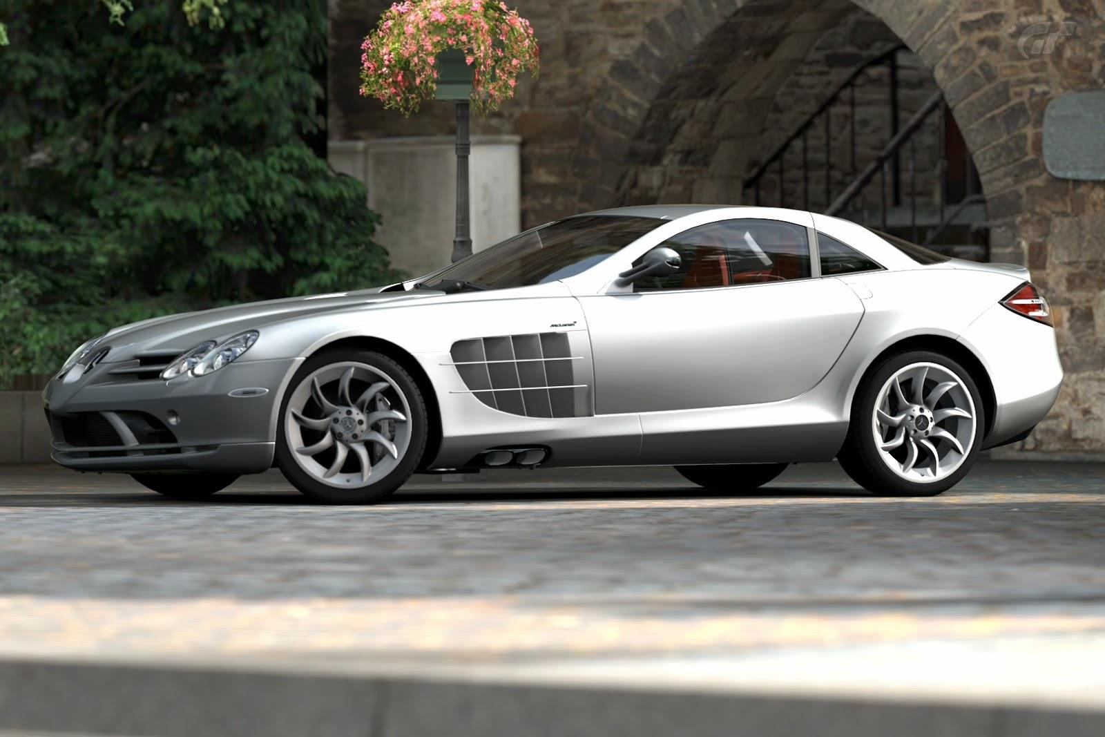 Here Is GT5u0027s 2009 Mercedes Benz SLR McLaren (19 Inch Wheel Option).