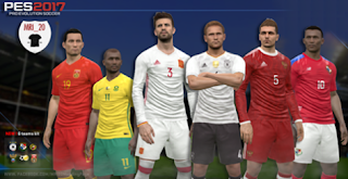 Kitpack International Team PES 2016/17 By mri_20