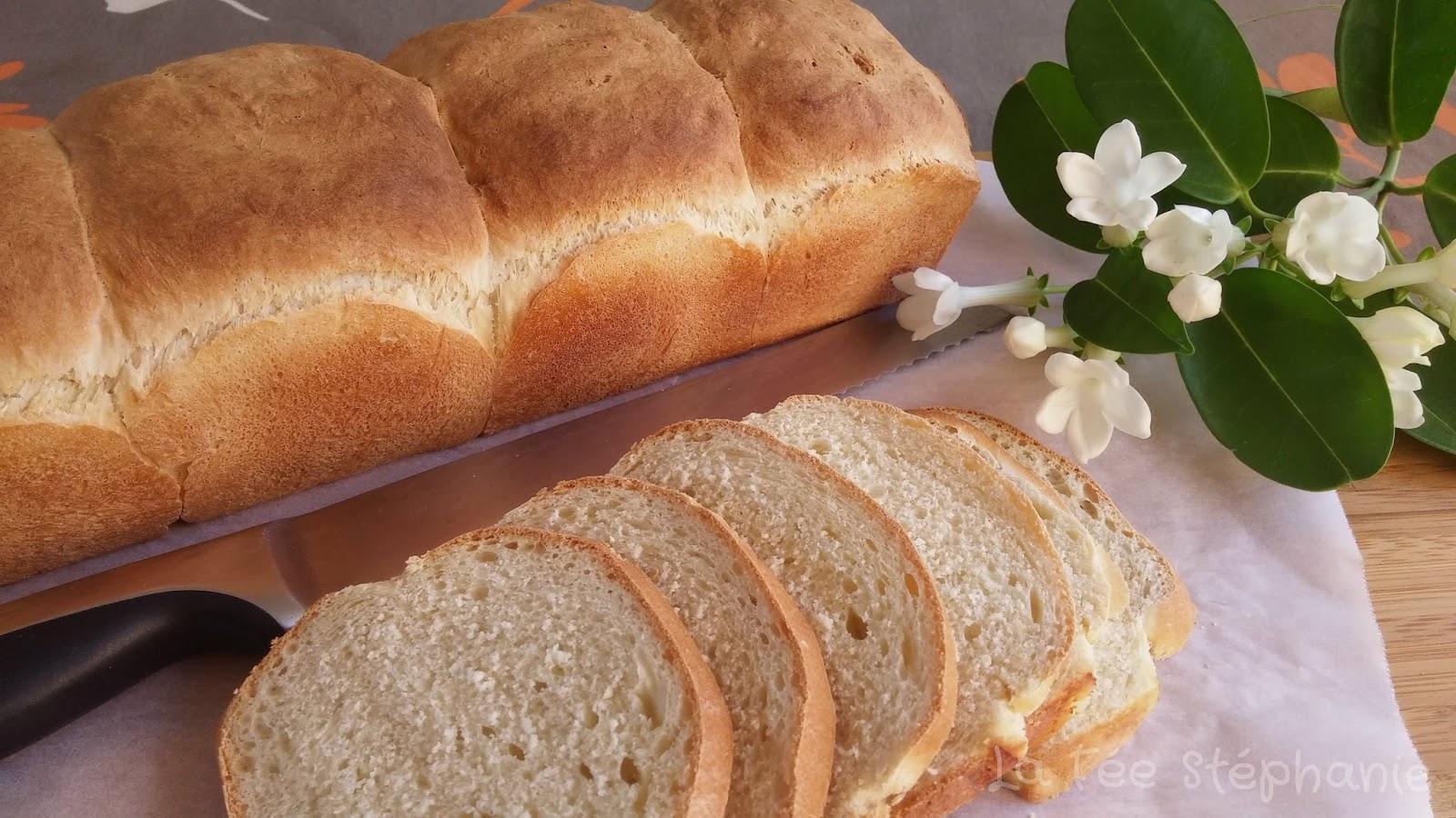 Recette inratable du pain de mie fait maison la f e st phanie - Recette sandwich pain de mie ...