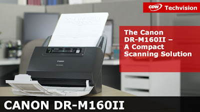 Download Canon DR-M160ii Driver Scanner