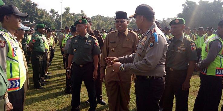 Apel 3 pilar Polres Malang.