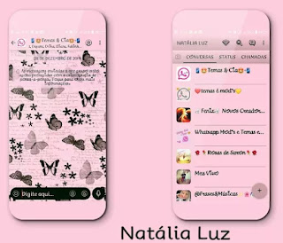 Pinkyfly Theme For YOWhatsApp & Fouad WhatsApp By Naty
