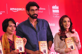 Aiswarya Rajinikanth Dhanush Standing on an Apple Box Launch Stills in Hyderabad  0058.jpg