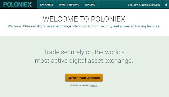 Hướng dẫn Poloniex mới nhất