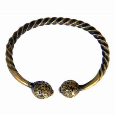 купить бронзовый витой браслет мужской эксклюзивная бижутерия оптом симферополь