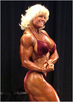 Sexy Female Bodybuilder Monica Armstrong