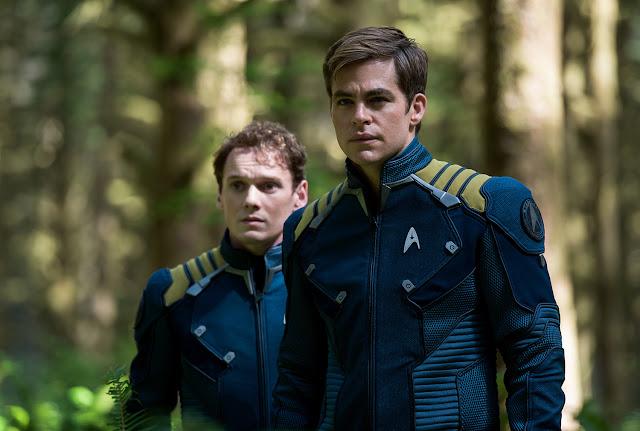 Chris Pine Anton Yelchin death Star Trek Beyond