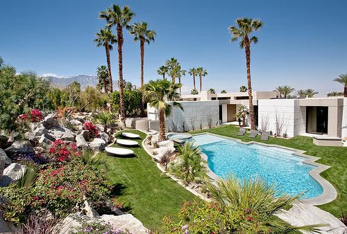 Kiến trúc biệt thự nghỉ dưỡng có ngoại cảnh ấn tượng Rancho-mirage-estate-1