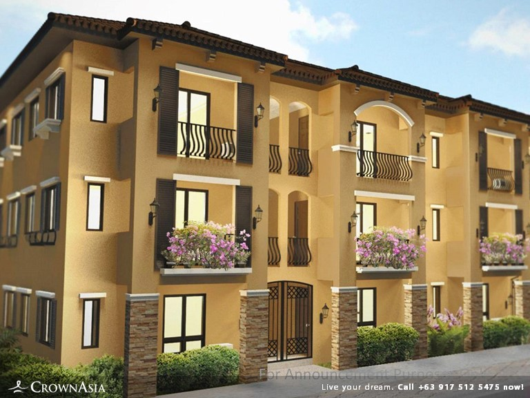 CROWN ASIA PHILIPPINES: Valenza Mansions - Three Bedroom Family