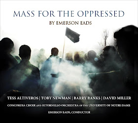 RECORDING OF THE MONTH | May 2017: Emerson Eads - MASS FOR THE OPPRESSED (Emerson Eads Music EE-1701)