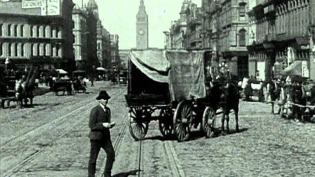 Hình ảnh camera hành trình năm 1906