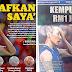 Akhbar Harian Metro  difitnah, gambar muka depan  diedit Hina Lee Chong Wei
