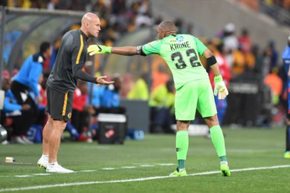 Baloyi urges Chiefs to trust reserve keepers