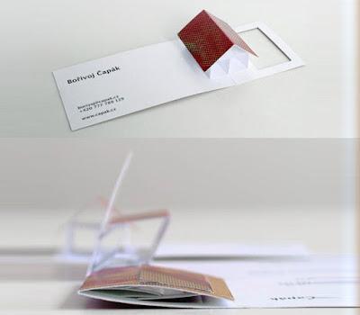 cartão de visita para imobiliária