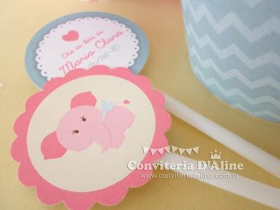 decoração para chá de bebê elefantinha