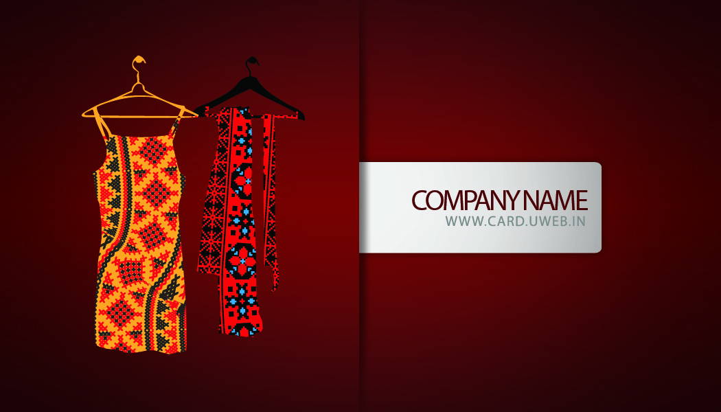 Fashion Designer Business Cards Dressmaker Design Card Free Download