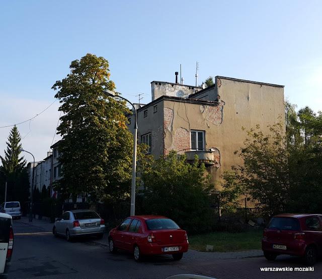 Warszawa Warsaw Stare Bielany ulice Bielan architektura