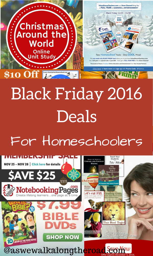 Black Friday for homeschoolers