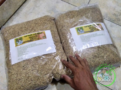Omin Taryomin Subang, Jabar  Pembeli Benih Padi NAZWA 80 HST Panen   sebanyak 5 Kg atau 1Bungkus