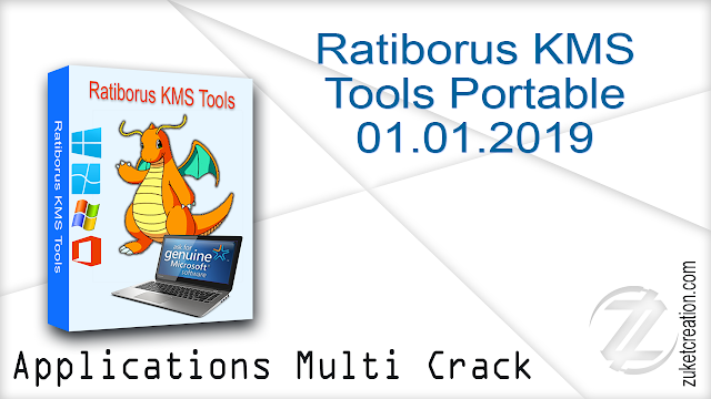 Ratiborus KMS Tools Portable 01.01.2019