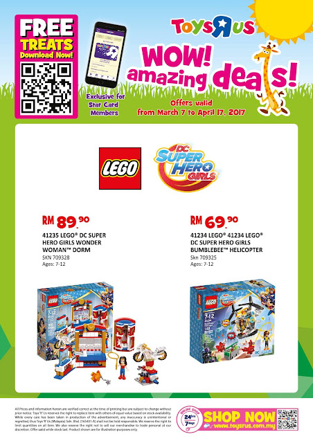 "Toys ""R"" Us Malaysia WOW! Amazing Deals Offer"