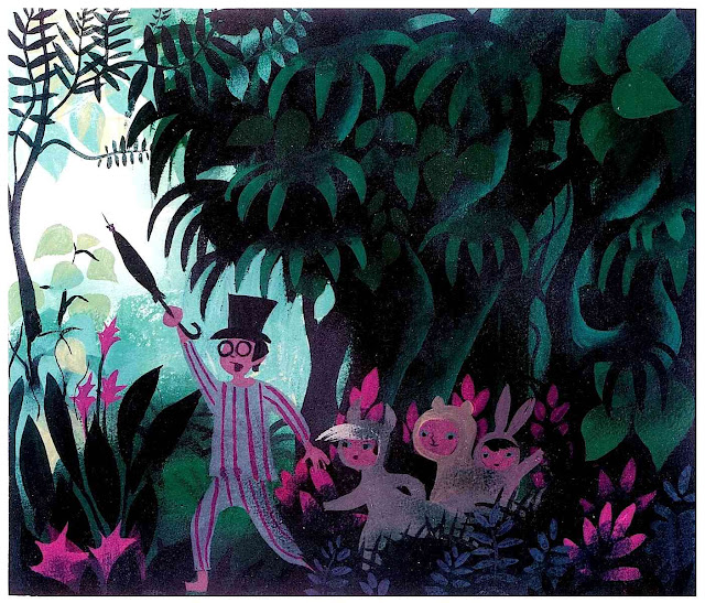 Mary Blair design for Disney's Peter Pan