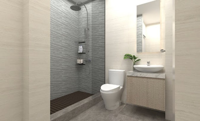 7 Desain Terbaru Kamar Mandi Minimalis Dengan Tampilan Shower Stylish