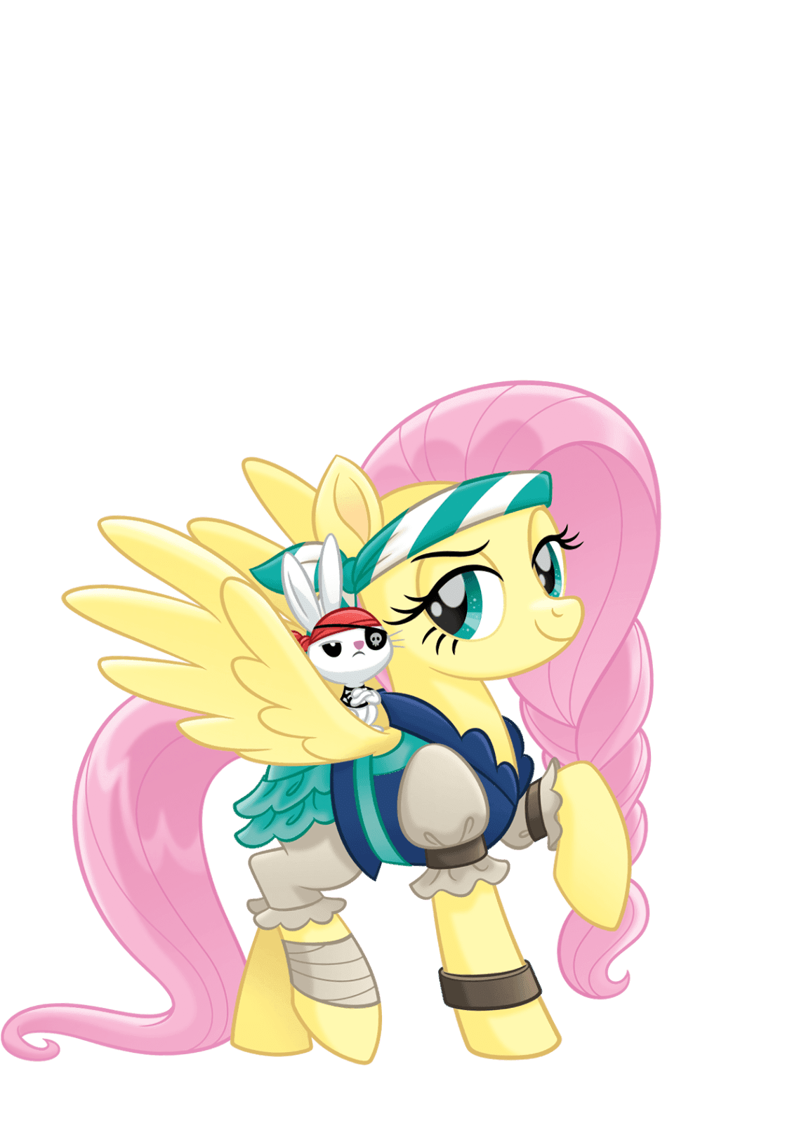 MLP Movie Vector Pirate Fluttershy