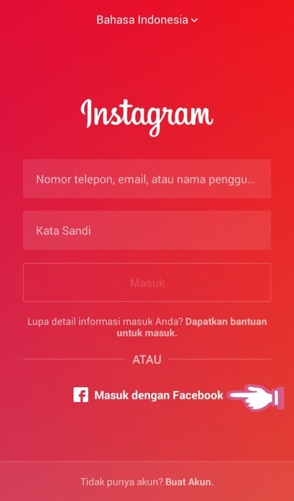 screen shot instagram